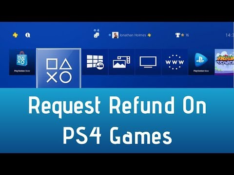 how to get refund on ps4-3