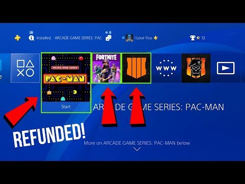 can you get a refund on ps4-5