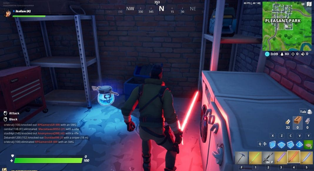 how to get a lightsaber in fortnite-7