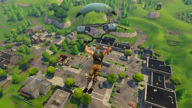 how to land quickly in fortnite-3