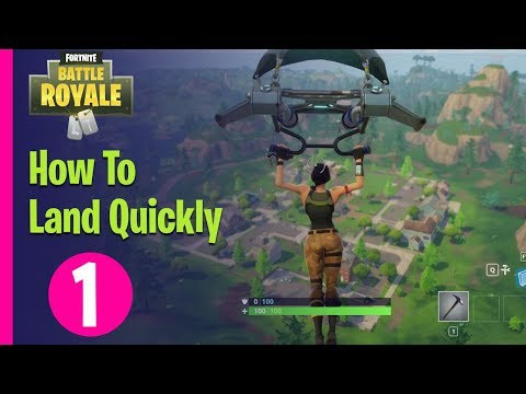 how to land quickly in fortnite-4