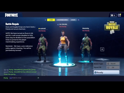 how to leave party in fortnite-2