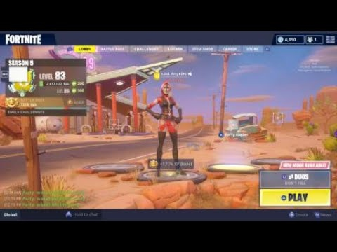 how to leave party in fortnite-5