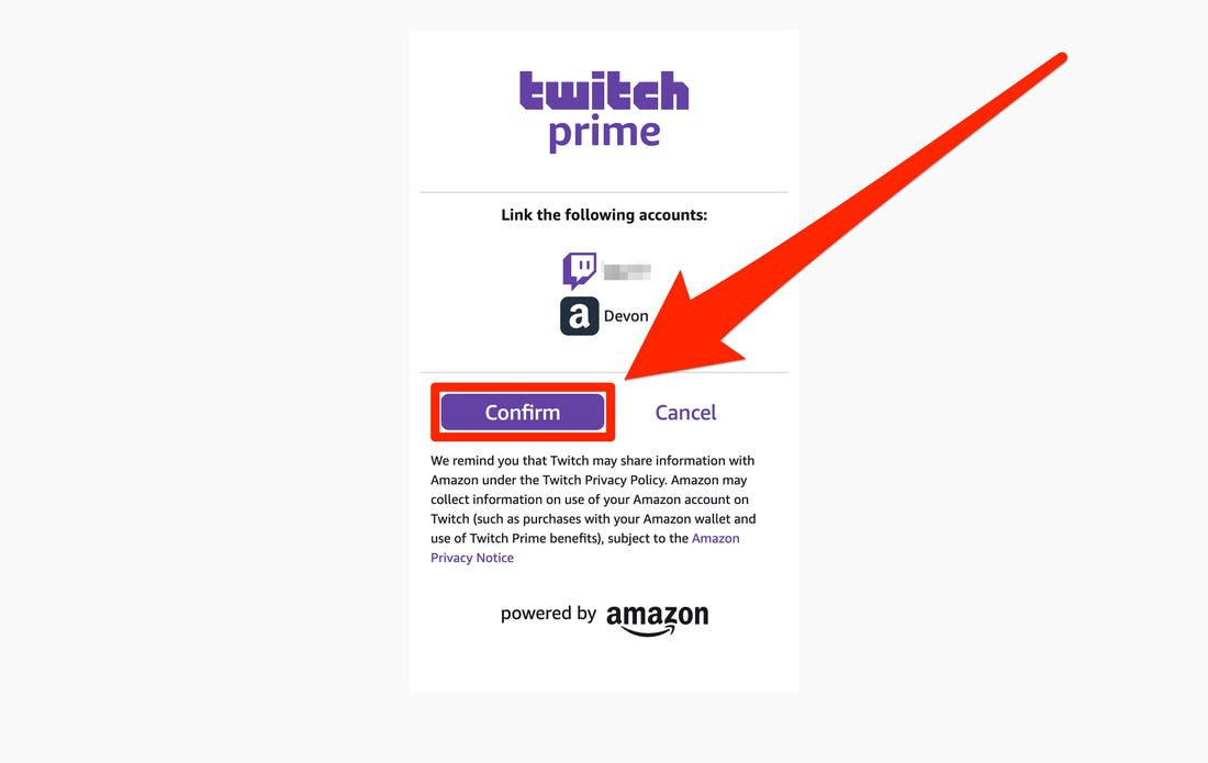 how to link your amazon prime to twitch-4