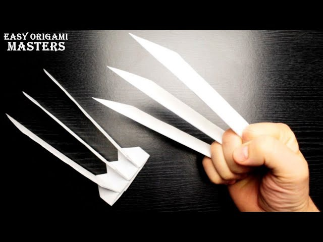 how to make wolverine claws-0