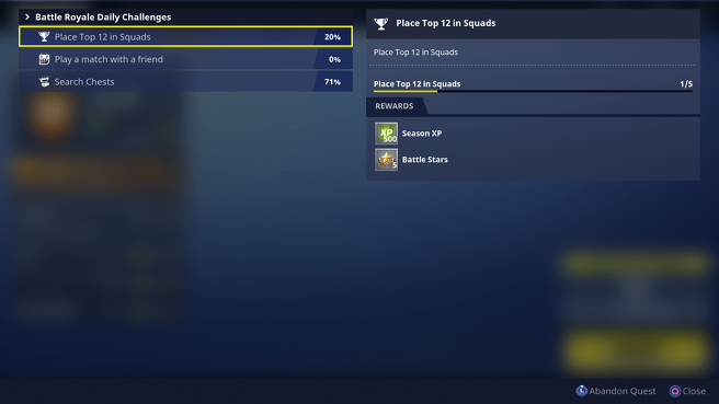 fortnite when do daily challenges reset-7