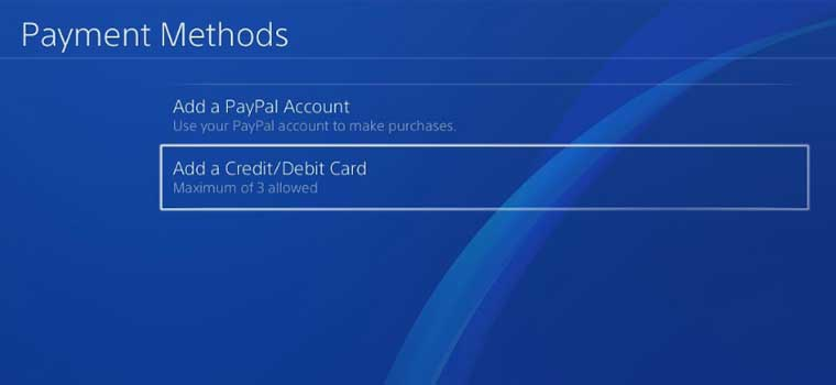 how to remove credit card from ps4-2