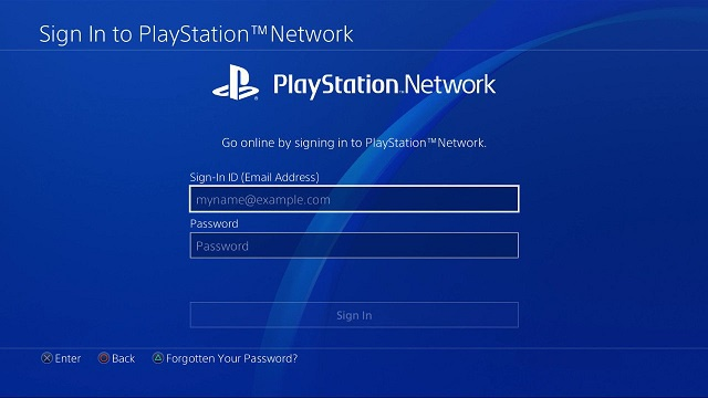 login to playstation network-1