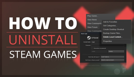 how to uninstall games-1