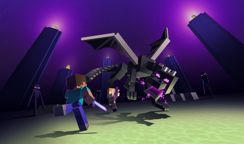 fighting the ender dragon-2