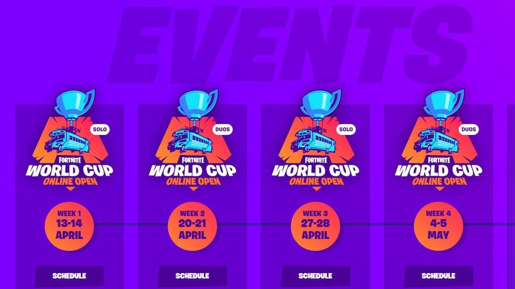 when is the fortnite world cup-1