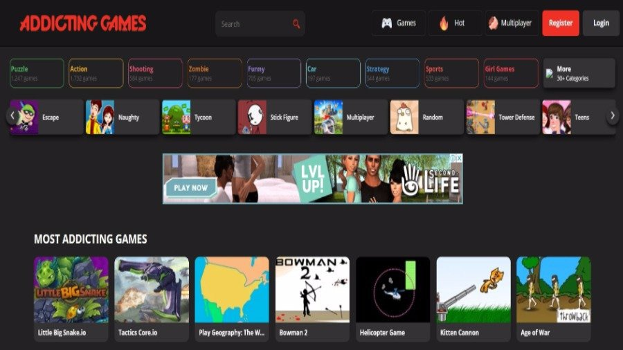 computer game web site-1
