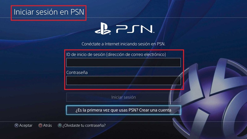 playstation network iniciar sesion-0