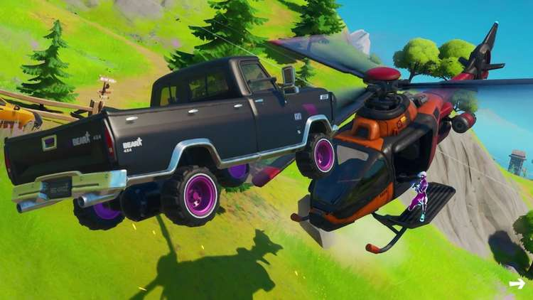 where are cars in fortnite-7