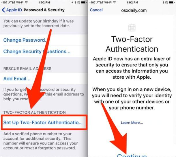 how to turn two factor authentication off-3