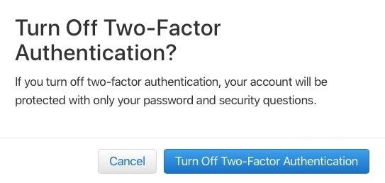 how to turn two factor authentication off-7
