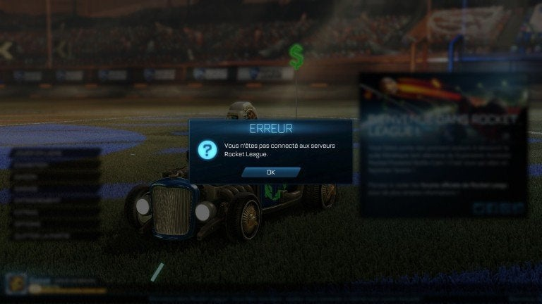 can't connect to rocket league servers pc-0