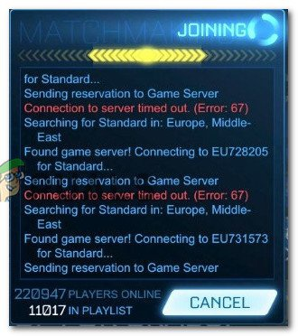 can't connect to rocket league servers pc-2