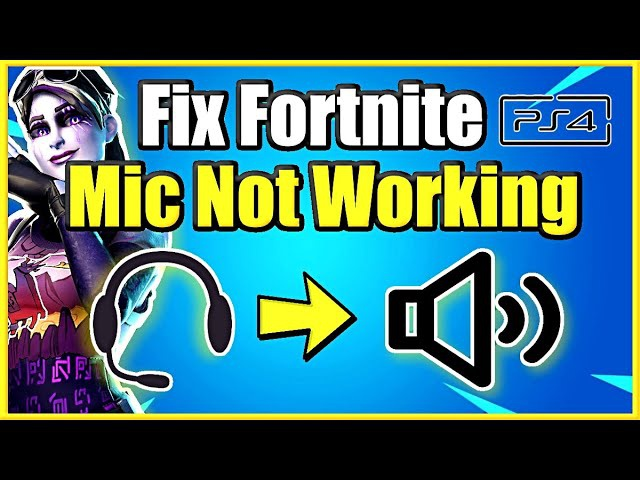 mic not working ps4-4