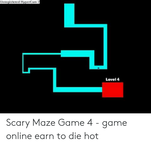 scariest maze game 4-6
