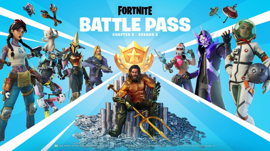 battle pass fortnite season 3-5