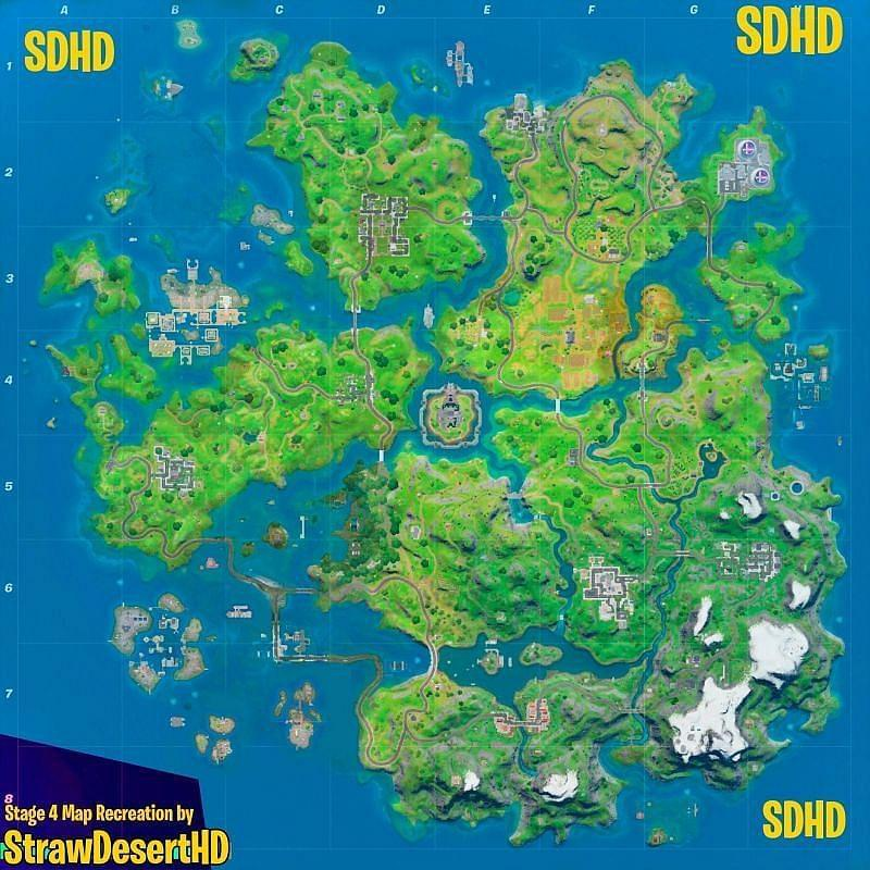fortnite battle royale loot map-2