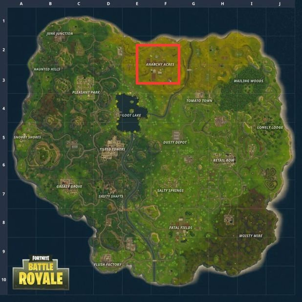 fortnite battle royale loot map-3
