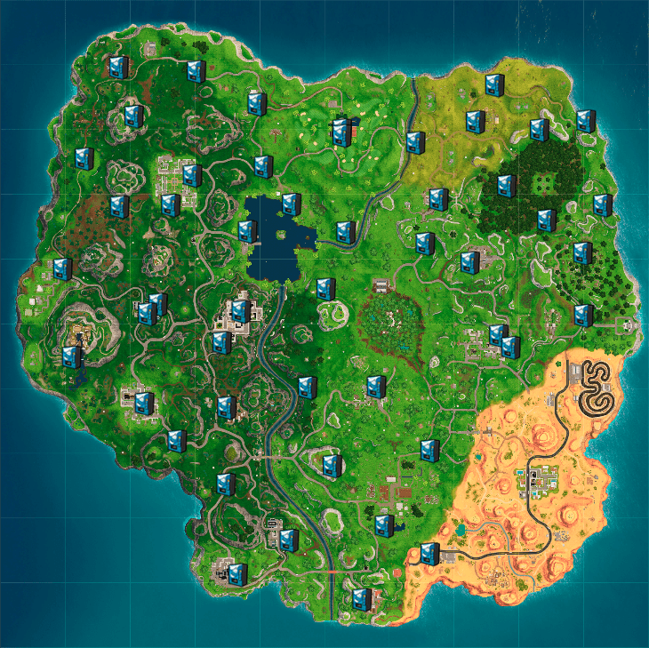 fortnite battle royale loot map-4