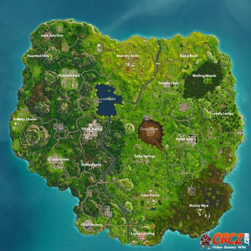 fortnite battle royale loot map-6