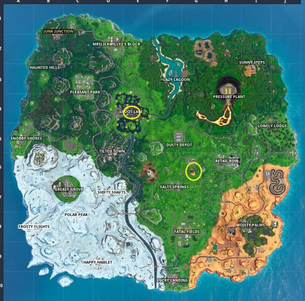 fortnite battle royale loot map-9
