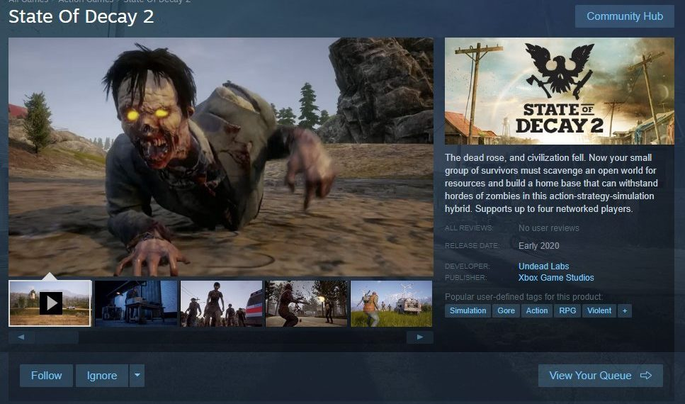 state of decay 2 steam release-0