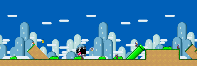 super mario world 1-1-6