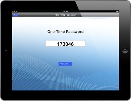 one-time password-8