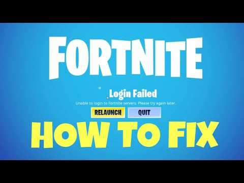 unable to login to fortnite servers pc-0