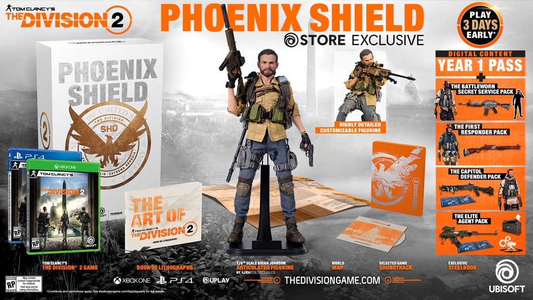 pre order the division 2-1