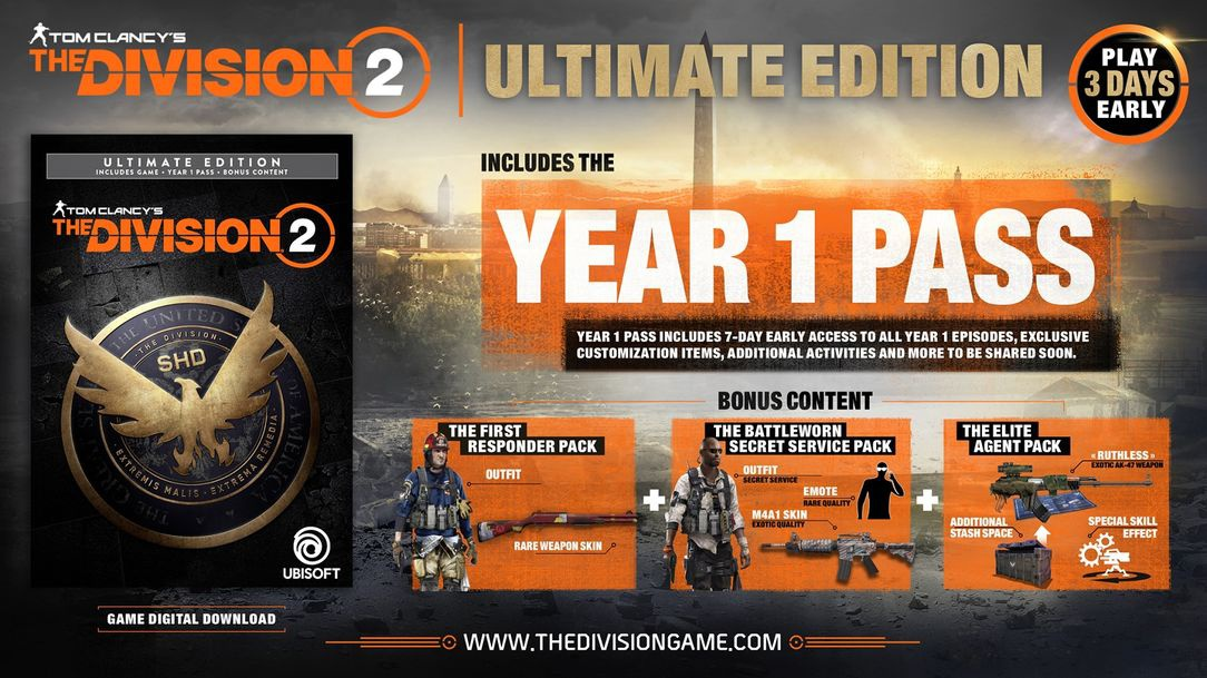 pre order the division 2-2
