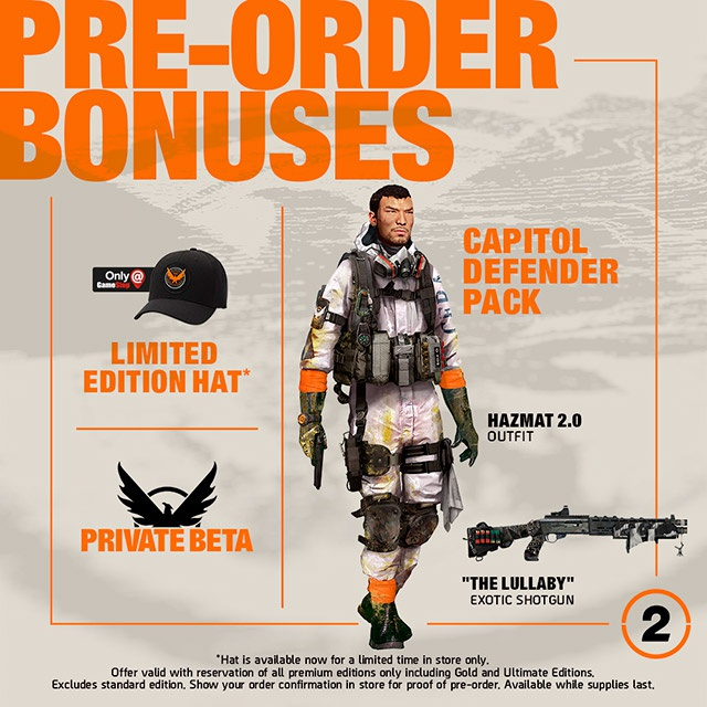 pre order the division 2-3