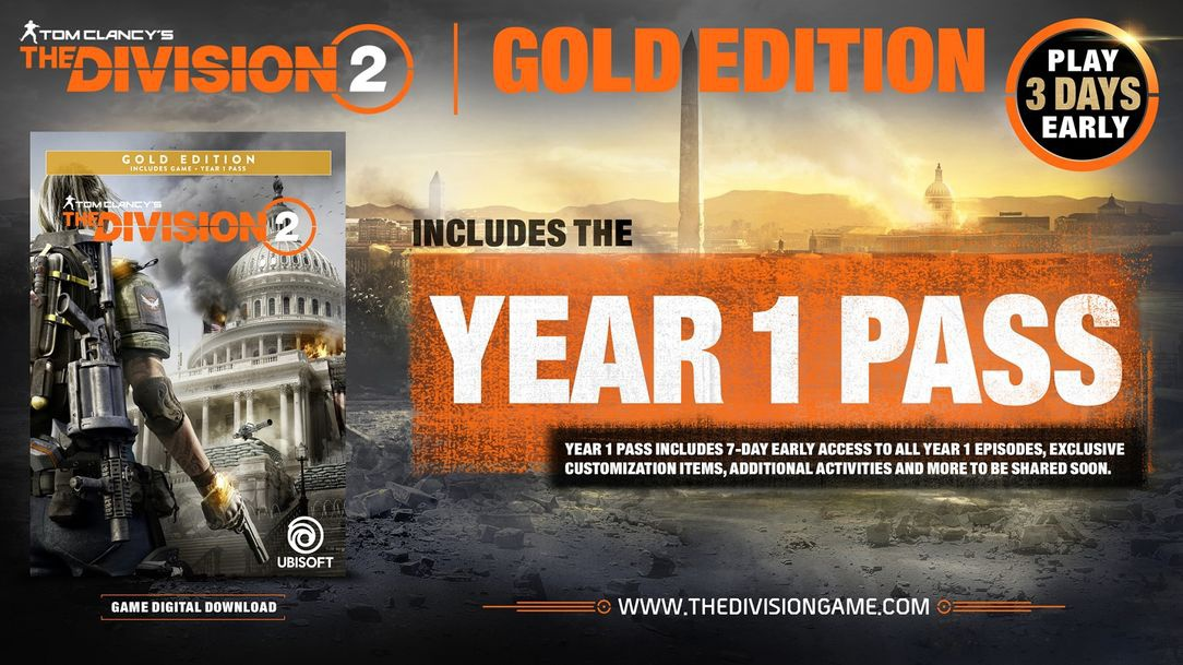 pre order the division 2-4