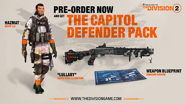 pre order the division 2-5