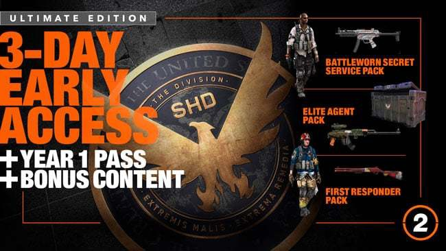 pre order the division 2-7