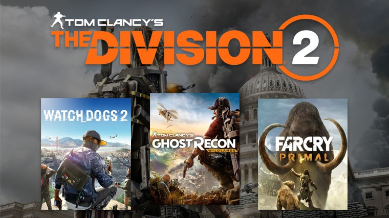 pre order the division 2-8