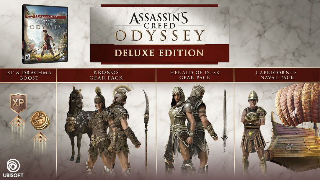 assassin's creed odyssey versions-1