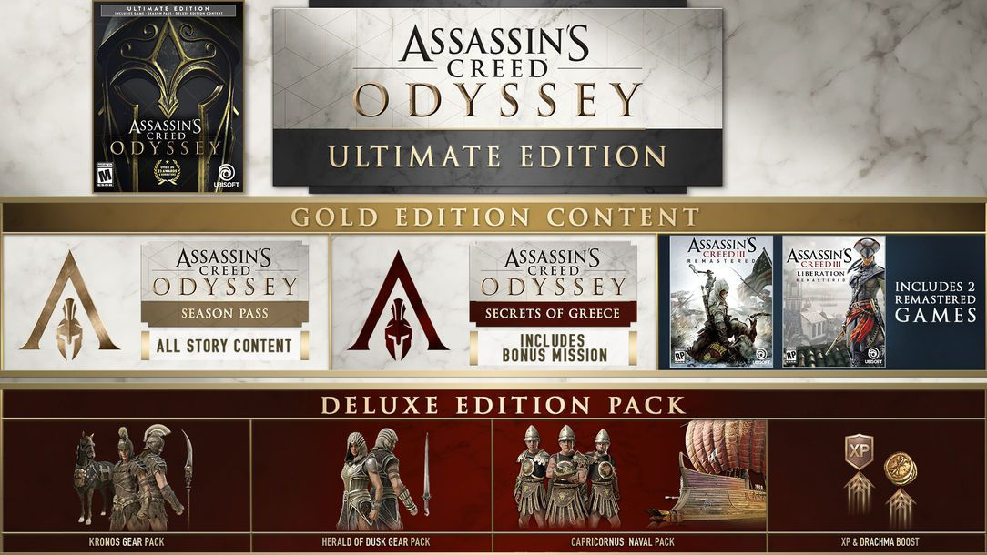 assassin's creed odyssey versions-2