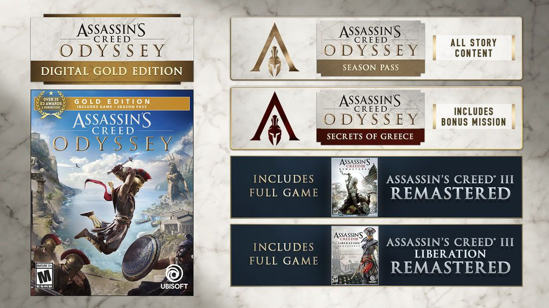 assassin's creed odyssey versions-4