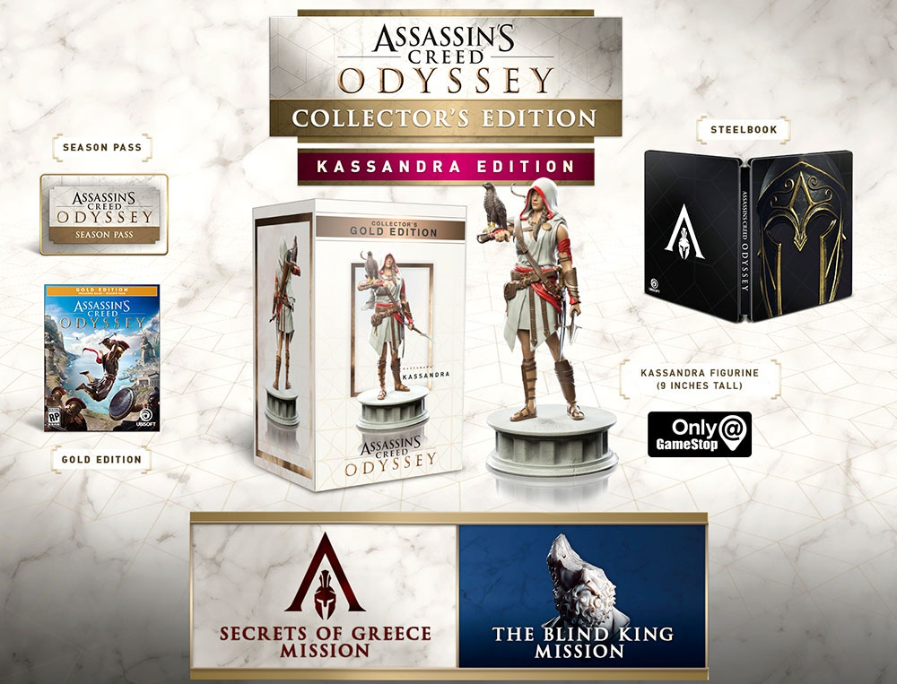 assassin's creed odyssey versions-7