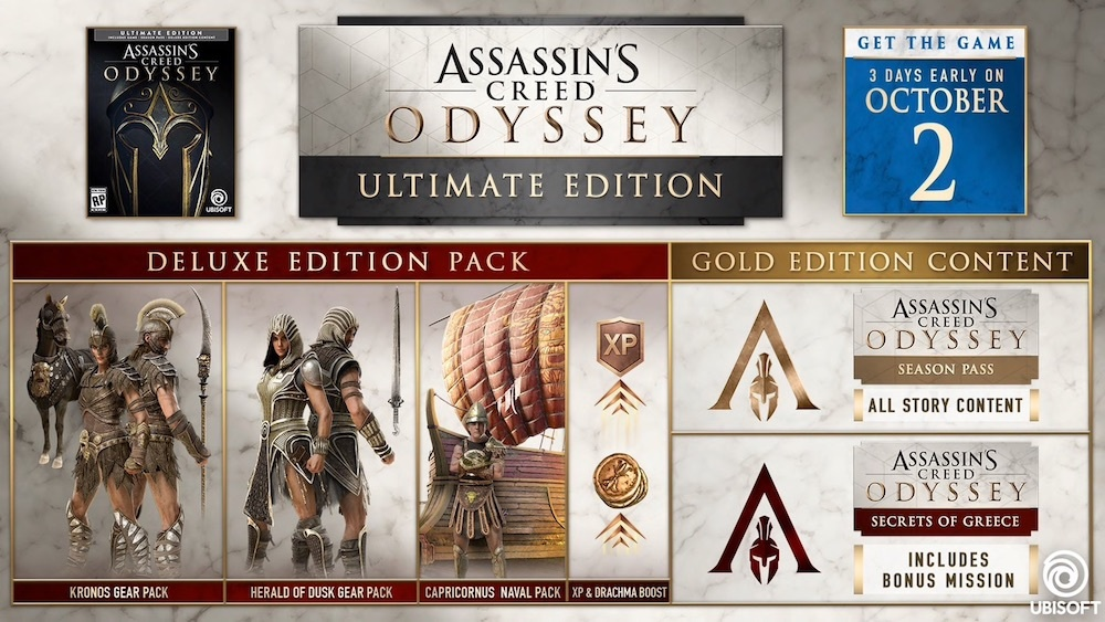 assassin's creed odyssey versions-9