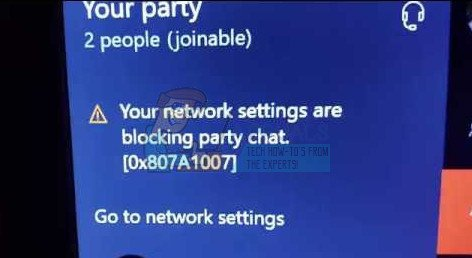 xbox one network settings are blocking party chat-7