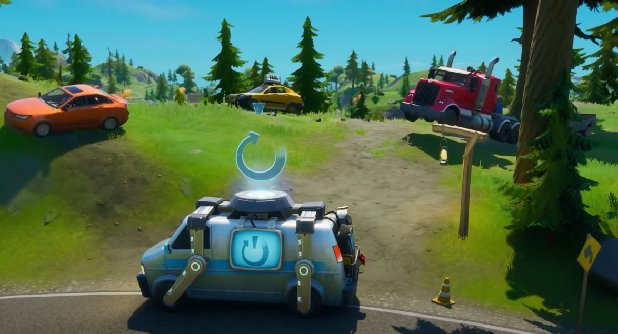 when do cars come out in fortnite-8