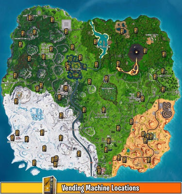 fortnite vending machine locations season 9-0