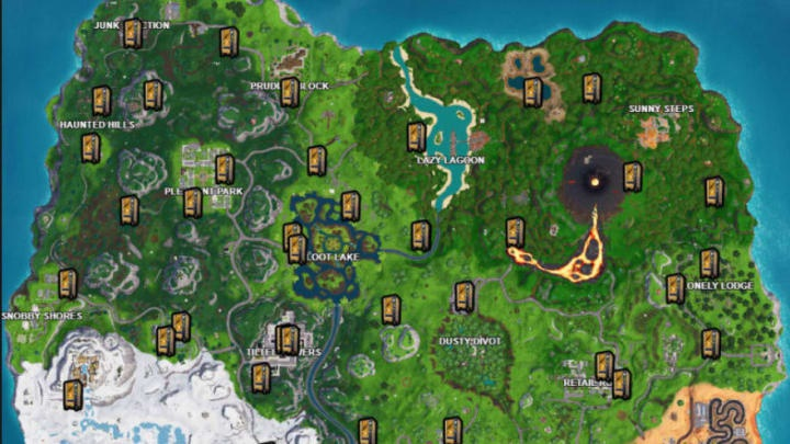 fortnite vending machine locations season 9-2